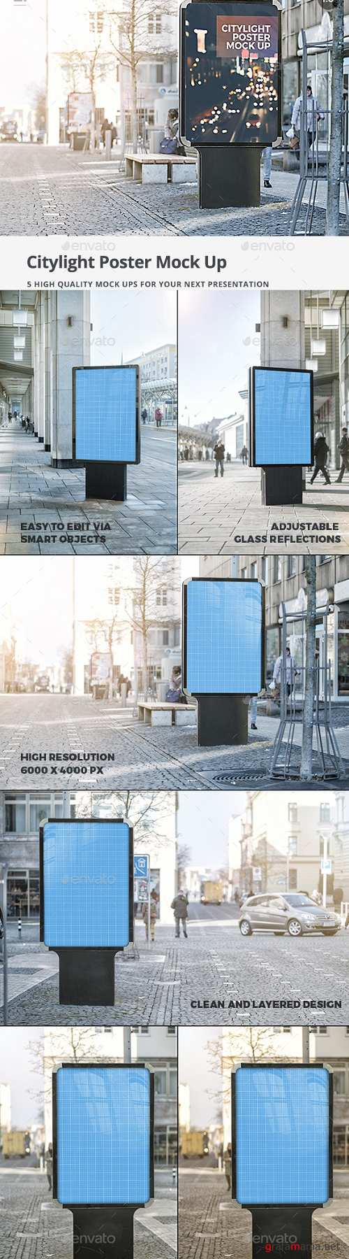 City Outdoor Mock-Up Pack - 19491904