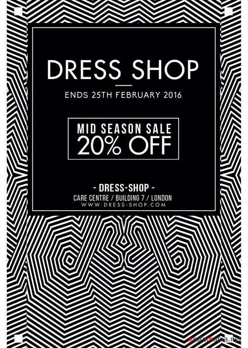 Dress Shop V7 Flyer Template