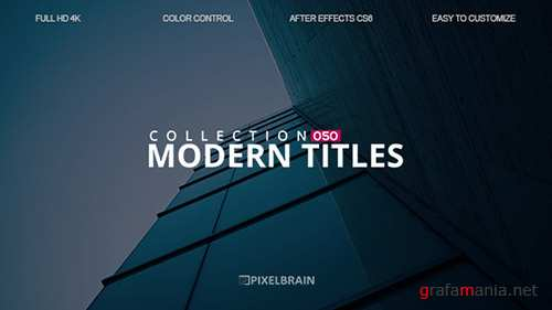 Modern Titles 19592033 - Project for After Effects (Videohive)