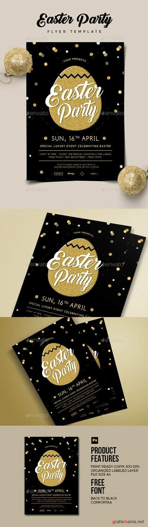 Easter Party Flyer 02 19675634