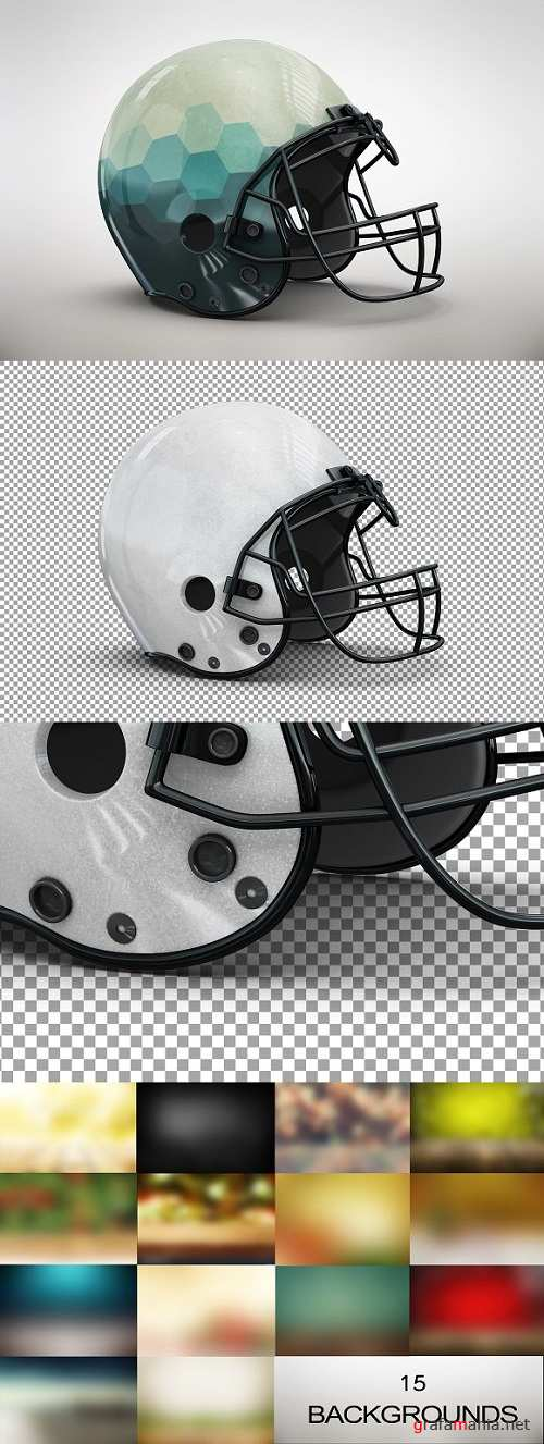 Football Helmet MockUp - 1349605