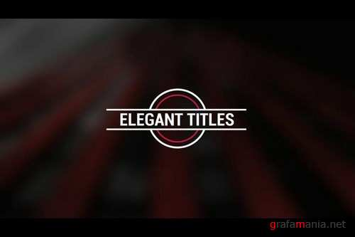Minimal Titles v23 After Effects Templates