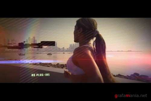 Glitchy Promo After Effects Templates