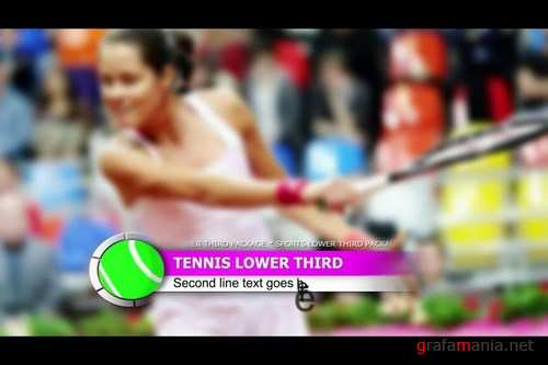 Sports lower third package After Effects Templates
