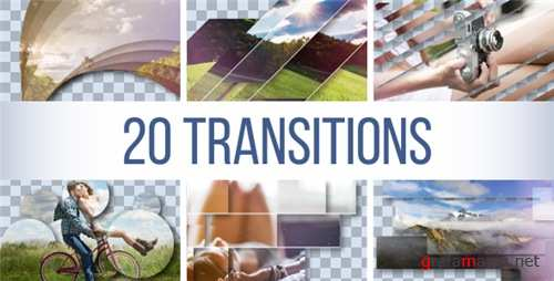 Transitions Pack 18678821 - After Effects Project (Videohive)