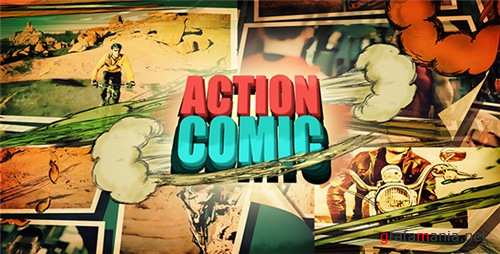 Action Comic - After Effects Project (Videohive)