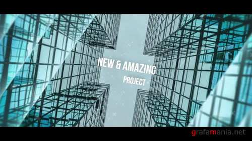 Corporate Parallax Slideshow After Effects Templates