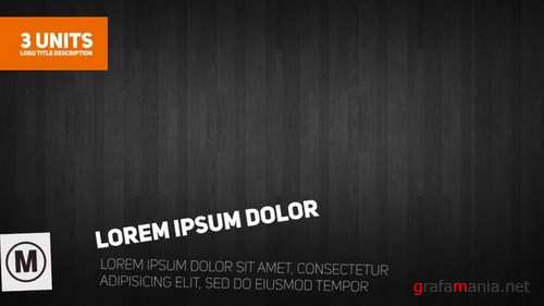 Crazy Block Titles After Effects Templates