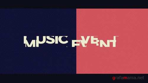 Music Event After Effects Templates