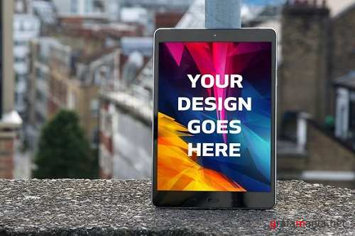 Tablet Display Mock-up#21 - 1145164