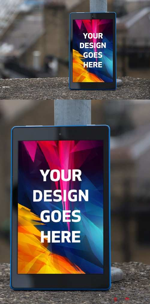 Tablet Display Mock-up#19 - 1145103