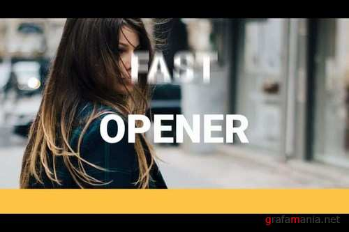 Typography Opener After Effects Templates