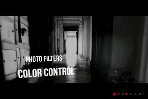 Silent Darkness Slideshow After Effects Templates