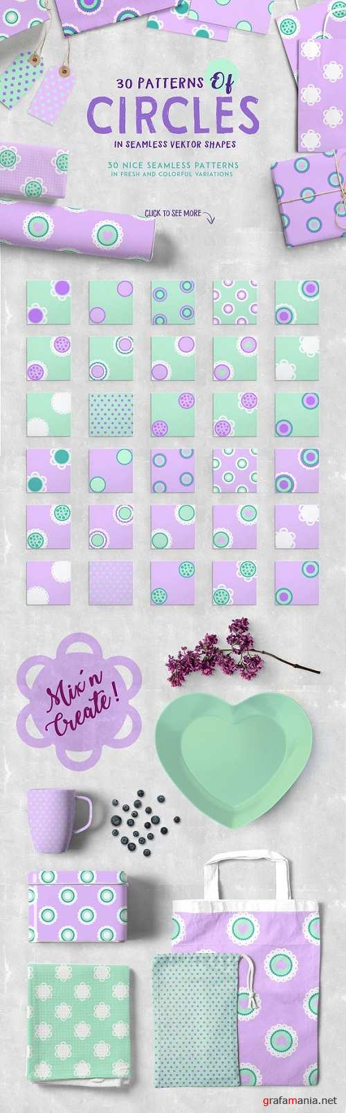 Circles Pattern Pack 1370982