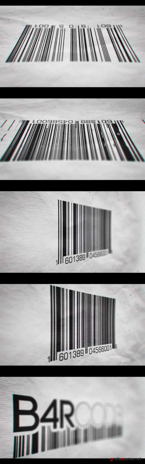 Videohive Barcode Reveal 19486196