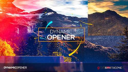 Dynamic Opener 19630513 - Project for After Effects (Videohive)