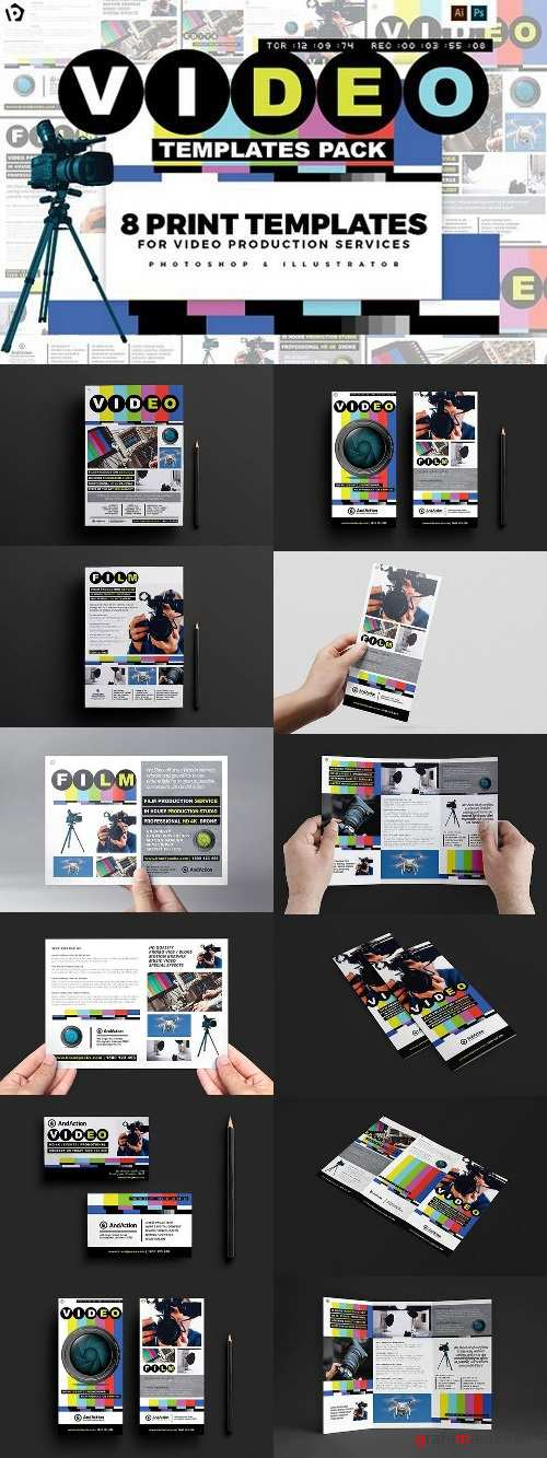 Videographer Templates Pack 1378831