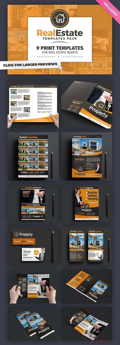 Real Estate Brochure Template Pack - 772468