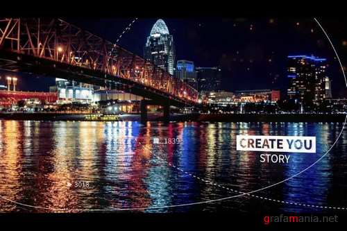 Cinematic Slideshow After Effects Templates