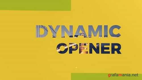 Dynamic Opener After Effects Templates FX