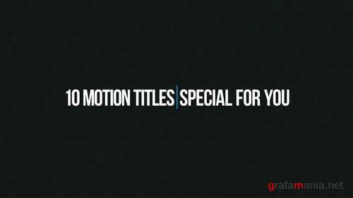Simple Titles After Effects Templates