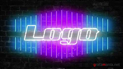 Neon Logo After Effects Templates
