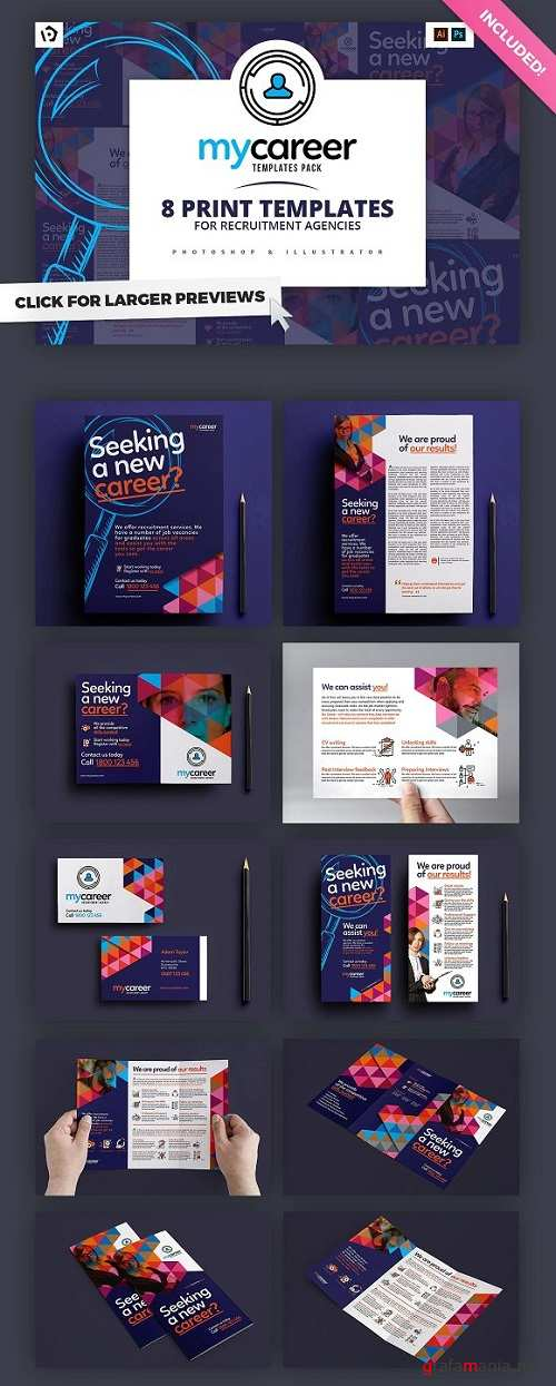 Recruitment Agency Templates Pack - 1183642