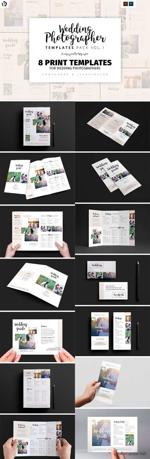 Wedding Photography Templates Pack 1 - 1347993