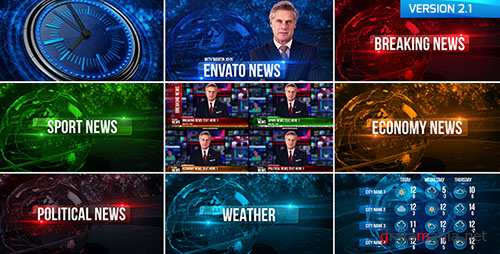 Broadcast Design News Package 19550533 - Project for After Effects (Videohive)