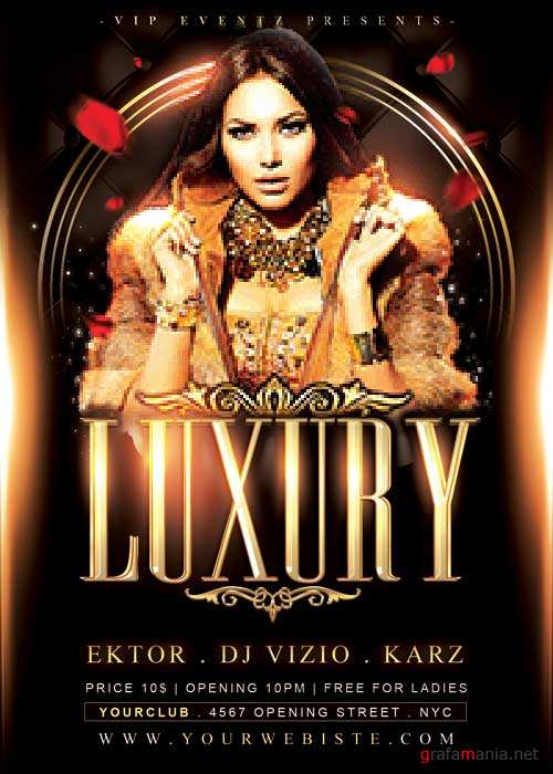 Luxury V41 Flyer Template