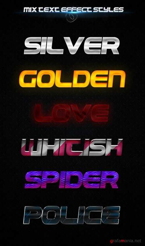 6 Mix Text Effect Styles 19429148