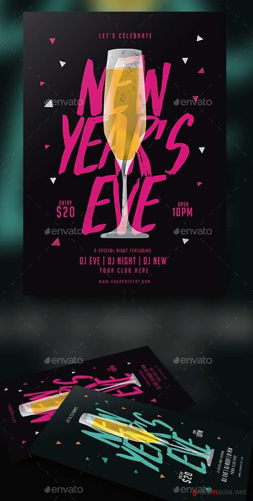 New Year Flyer 19077403