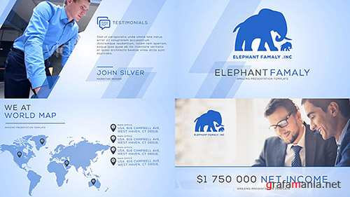 Clean Business Company Profile 14534439 - Project for After Effects (Videohive)