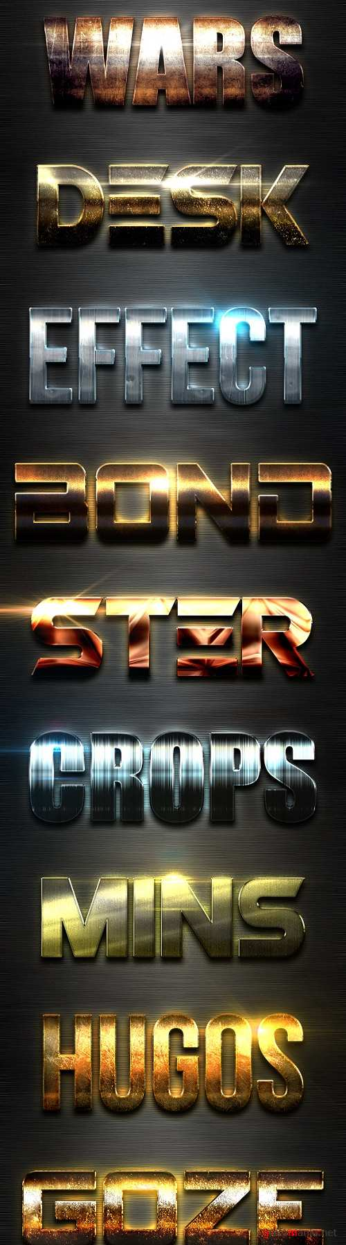New 10 Extra Light Text Effects Vol.6 - 19453640