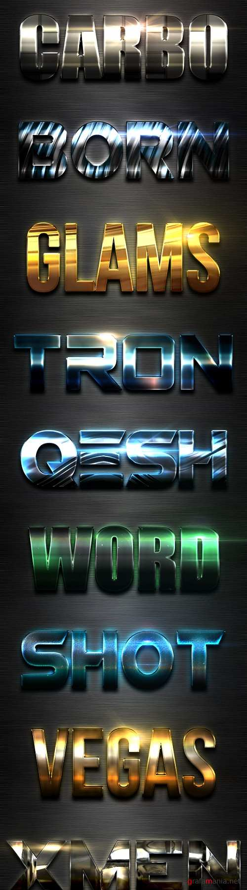 New 10 Extra Light Text Effects Vol.8 - 19498079