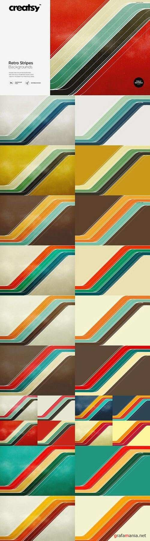 Retro Stripes Backgrounds 1184906