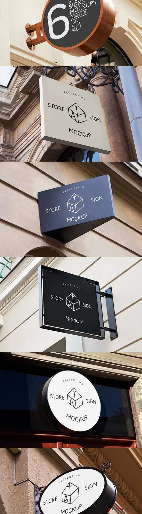 Store Signs Mock-Ups 680201