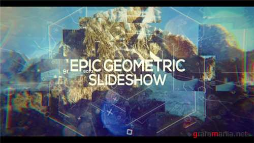 Epic Geometric Slideshow - After Effects Project (Videohive)