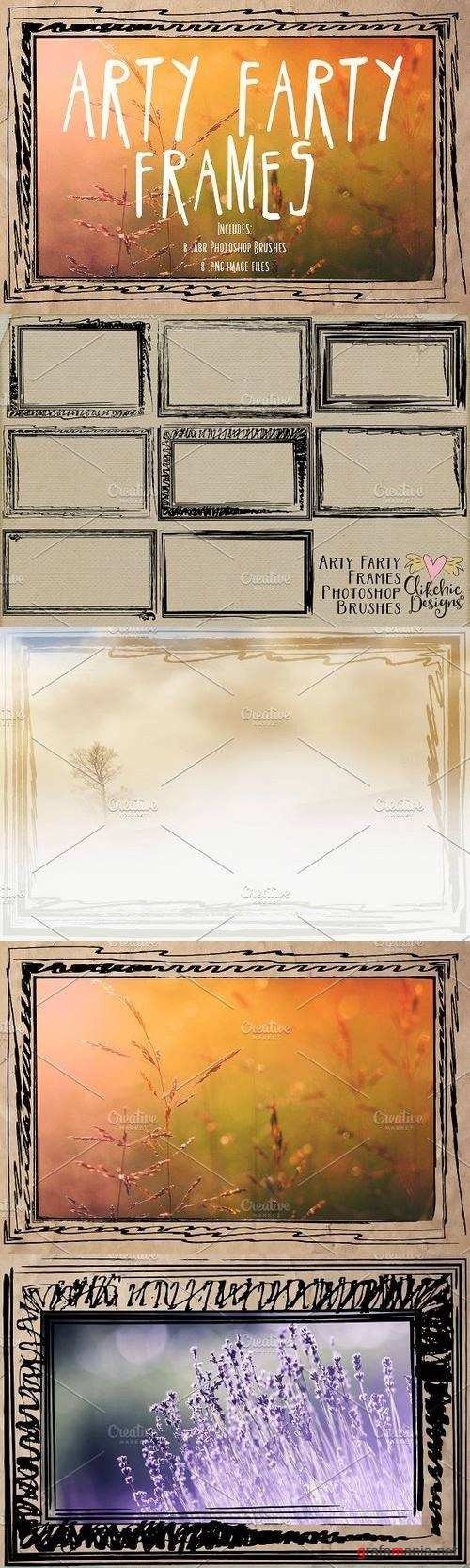Arty Farty Frames & PS Brushes 1209292