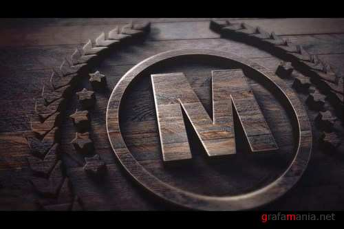 Wood Logo After Effects Templates