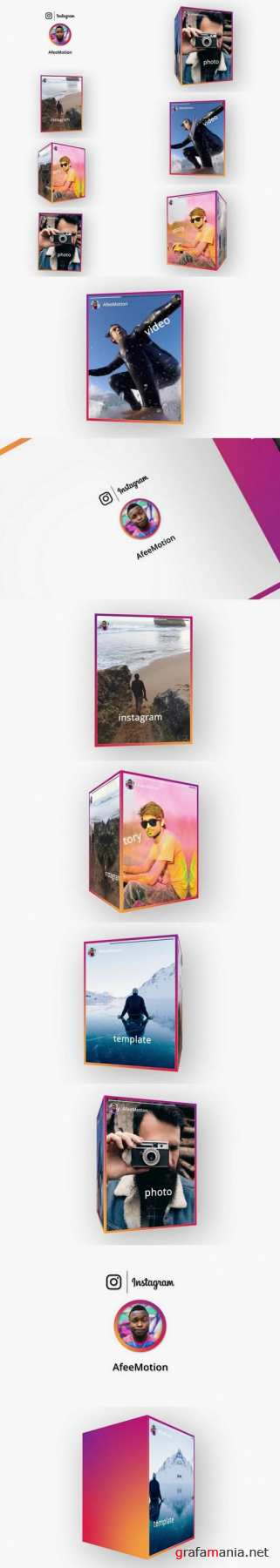 Instagram Stories After Effects Templates