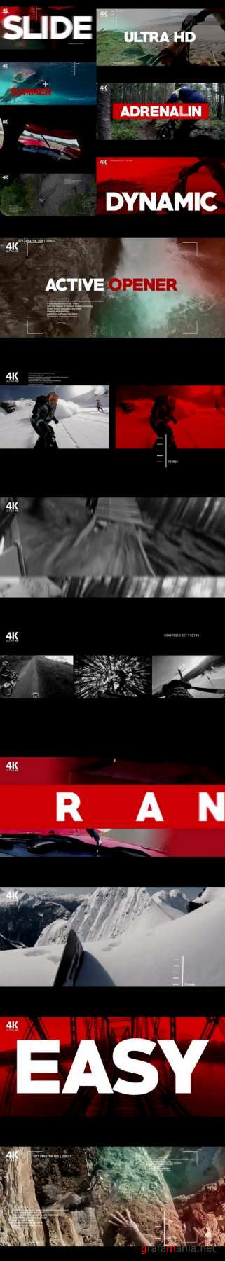 Active Opener After Effects Templates