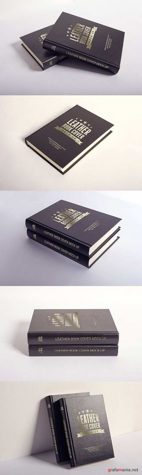 LEATHER BOOK COVER MOCK-UP 1420568