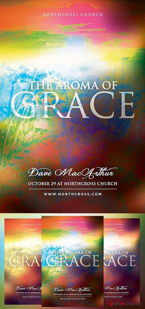 The Aroma of Grace Church Flyer 1492484