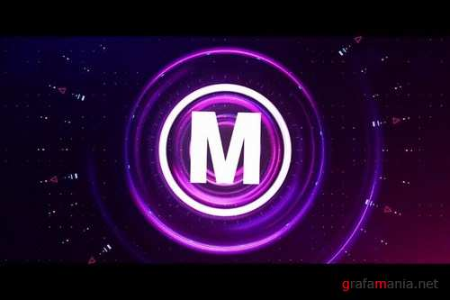 Colorful Futuristic Logo After Effects Templates
