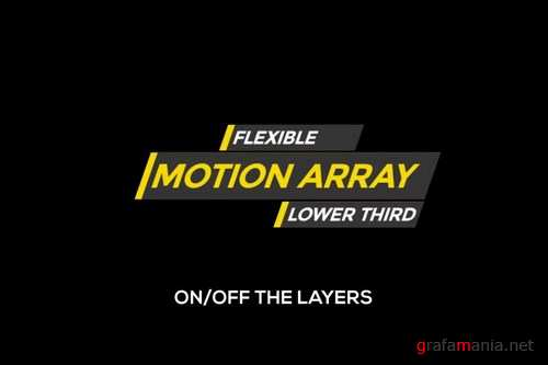 Flexi Lower Third After Effects Templates