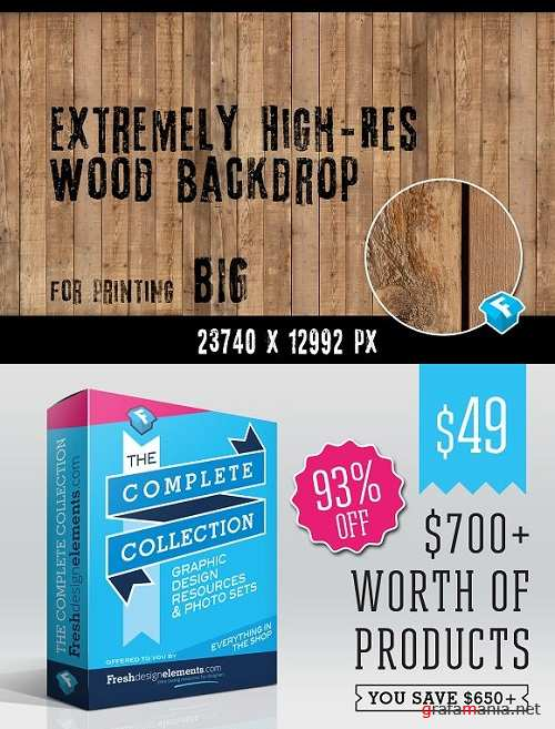 FREE Extremely HR Wood Backdrop 1542079