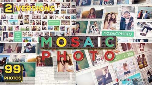 Mosaic Photo - After Effects Project (Videohive)