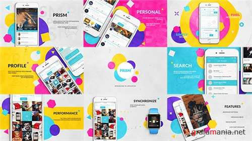 Prism // App Promo - After Effects Project (Videohive)