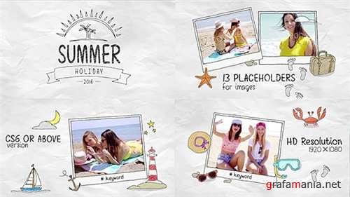 Summer Holidays 16928453 - After Effects Project (Videohive)